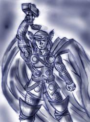 Thor by Tekk0