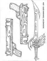 TZ Genesis - Weapons design by Tekk0