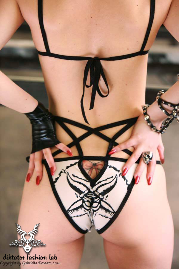 Pentagram Bikini by DiktatorFashionLab