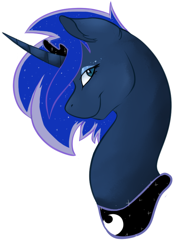 Short Haired Luna by KittyIsAWolf