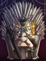 A Throne of Swords by KittyIsAWolf