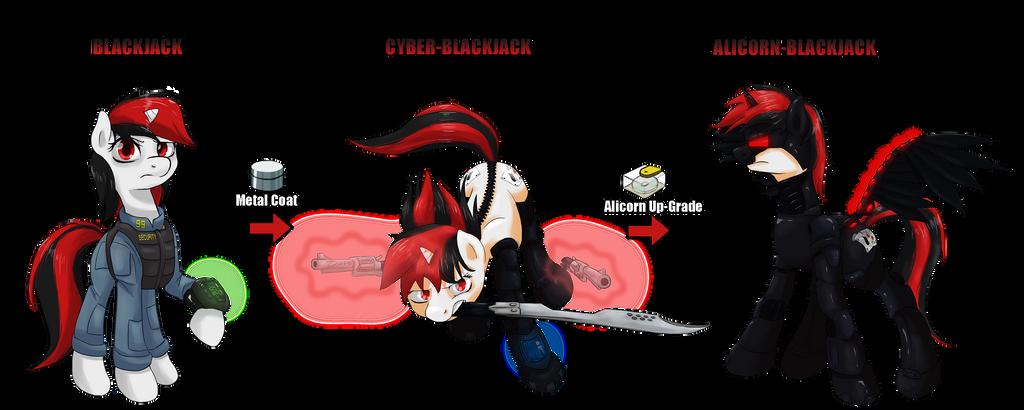 Blackjack fallout equestria