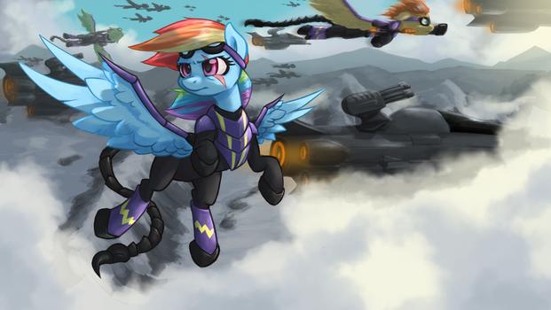 Rainbow Dash - MoA (Fallout: Equestria)