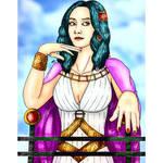 Nefertari Vivi in a different style!