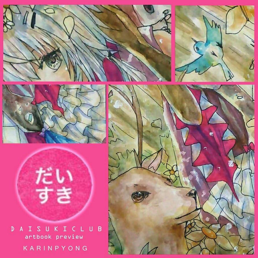 Daisukiclub Artbook Preview by KarinPyong