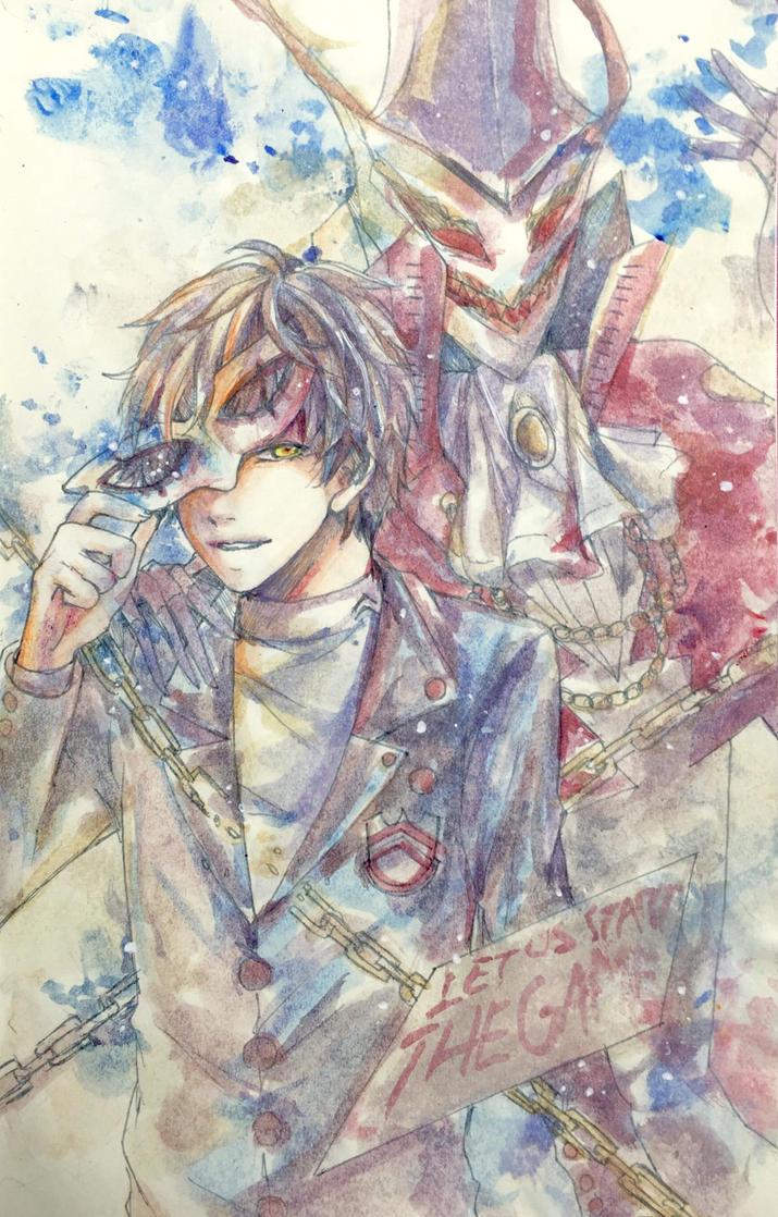 Persona 5  by KarinPyong