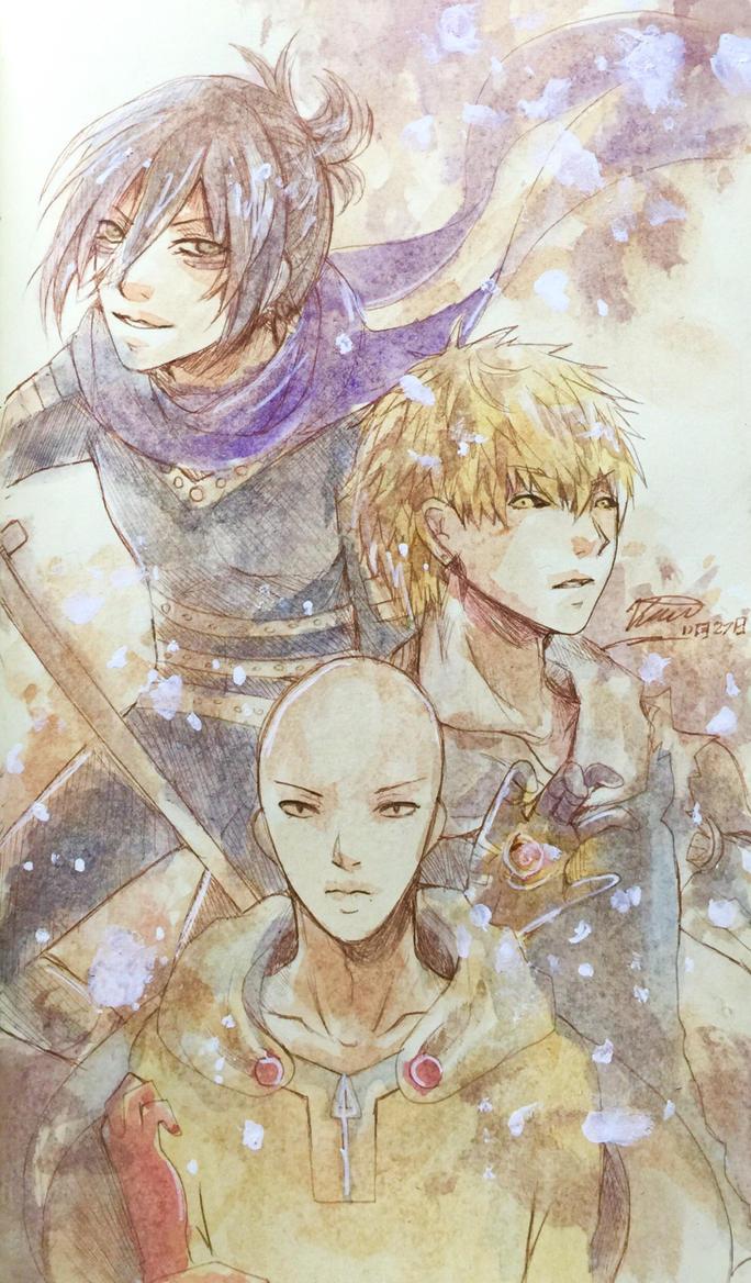Trio Heros by KarinPyong