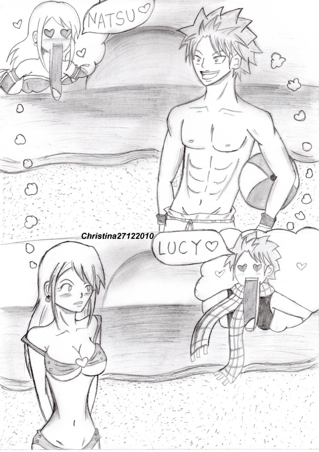 NaLu at the beach by Christina27122010