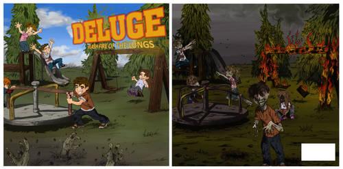 deluge album covers by Veravey