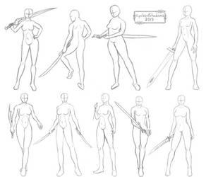 Sketch Study 2 by CyclesofShadows