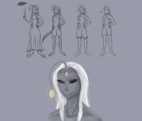 Character Design Sketch01