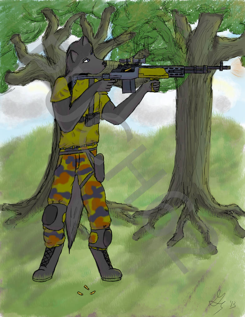 Grey and his M39 EMR by puch62 on DeviantArt