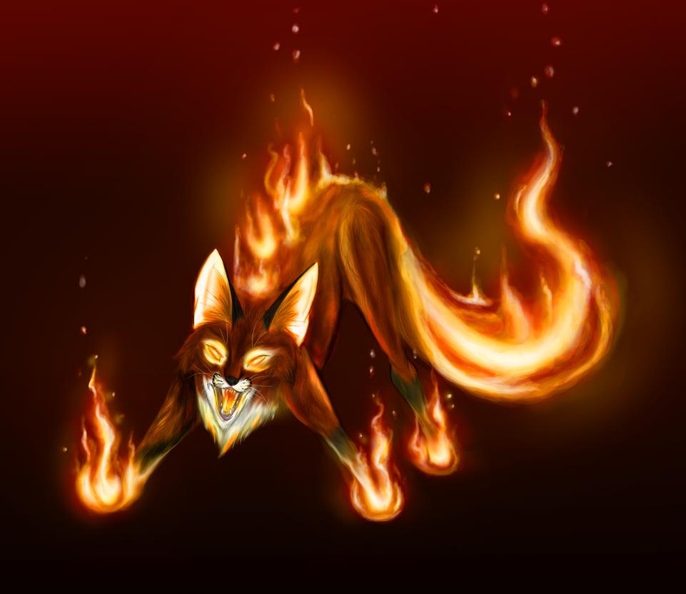 Картинки лисенок аниме 5