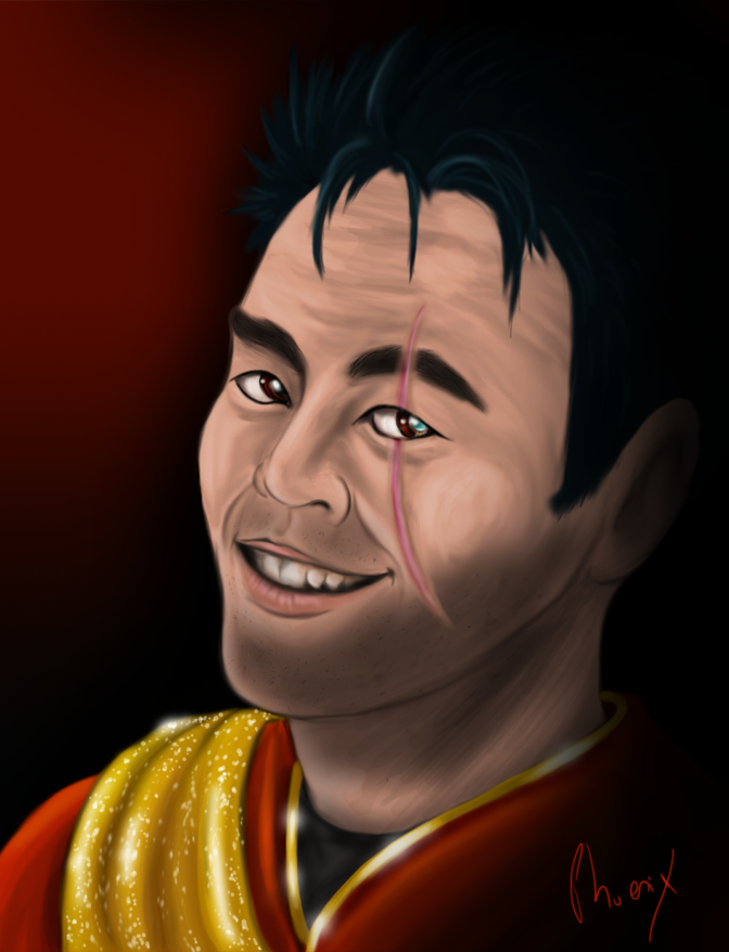 Mirror, Mirror Sulu by Phoenix-Cry