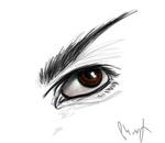 Speedpainting: Vulcan eye by Phoenix-Cry