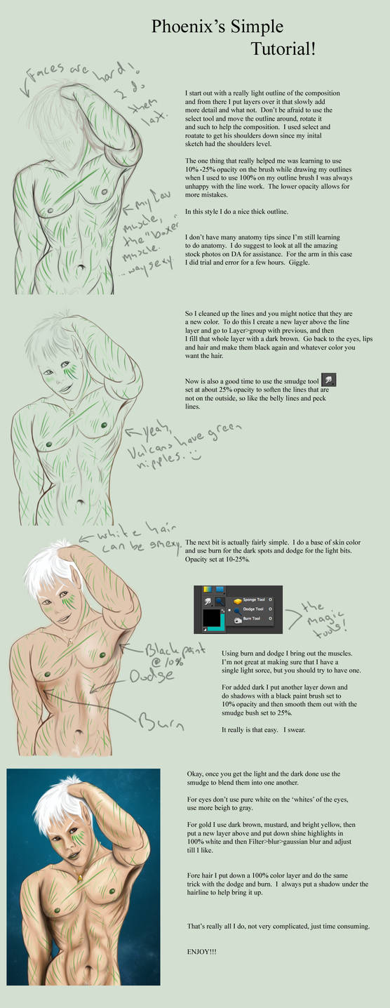 Photoshop Tutorial by Phoenix-Cry on DeviantArt