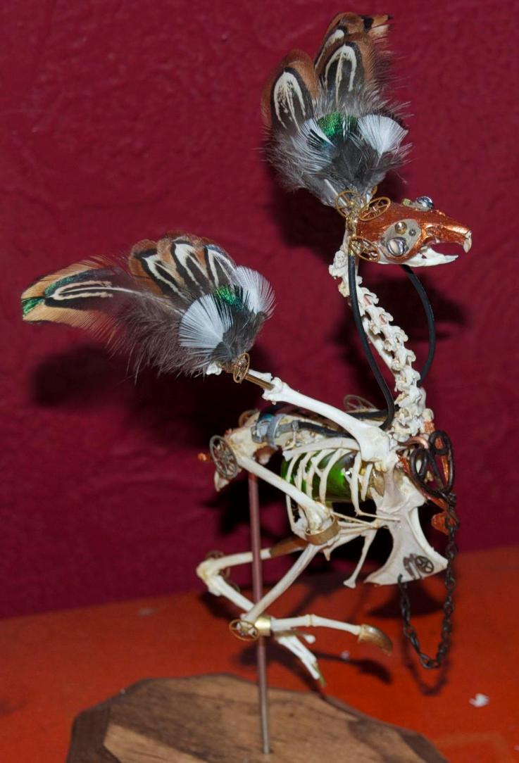 Steampunk Avian II by Phoenix-Cry