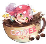 :FREE: Coffee Pagedoll by Navani