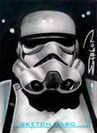 Stormtrooper Sketch Card