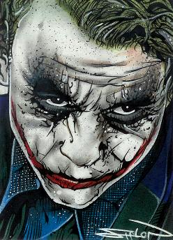 Joker Sketch Card 2 by RandySiplon