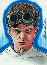 Dr. Horrible Sketch Card by RandySiplon