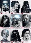 Star Wars Galaxy 4 Set 1