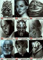 Star Wars Galaxy 4 Set 2 by RandySiplon