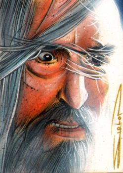Saruman - Face of Evil by RandySiplon