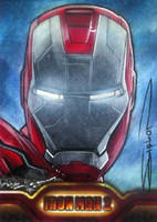 Iron Man 2 AP Card 1 by RandySiplon