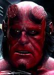 Hellboy Movie Sketch Card 3