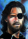 Snake Pliskken Sketch Card