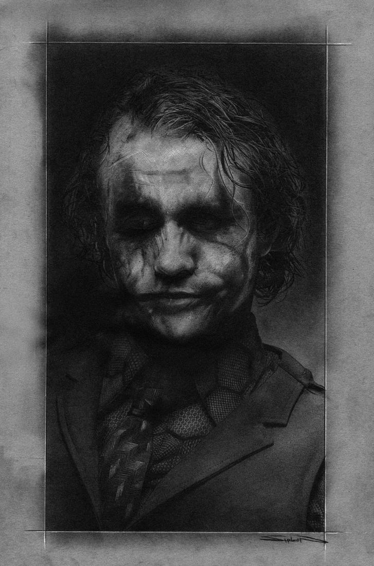 Heath Ledger Joker by RandySiplon