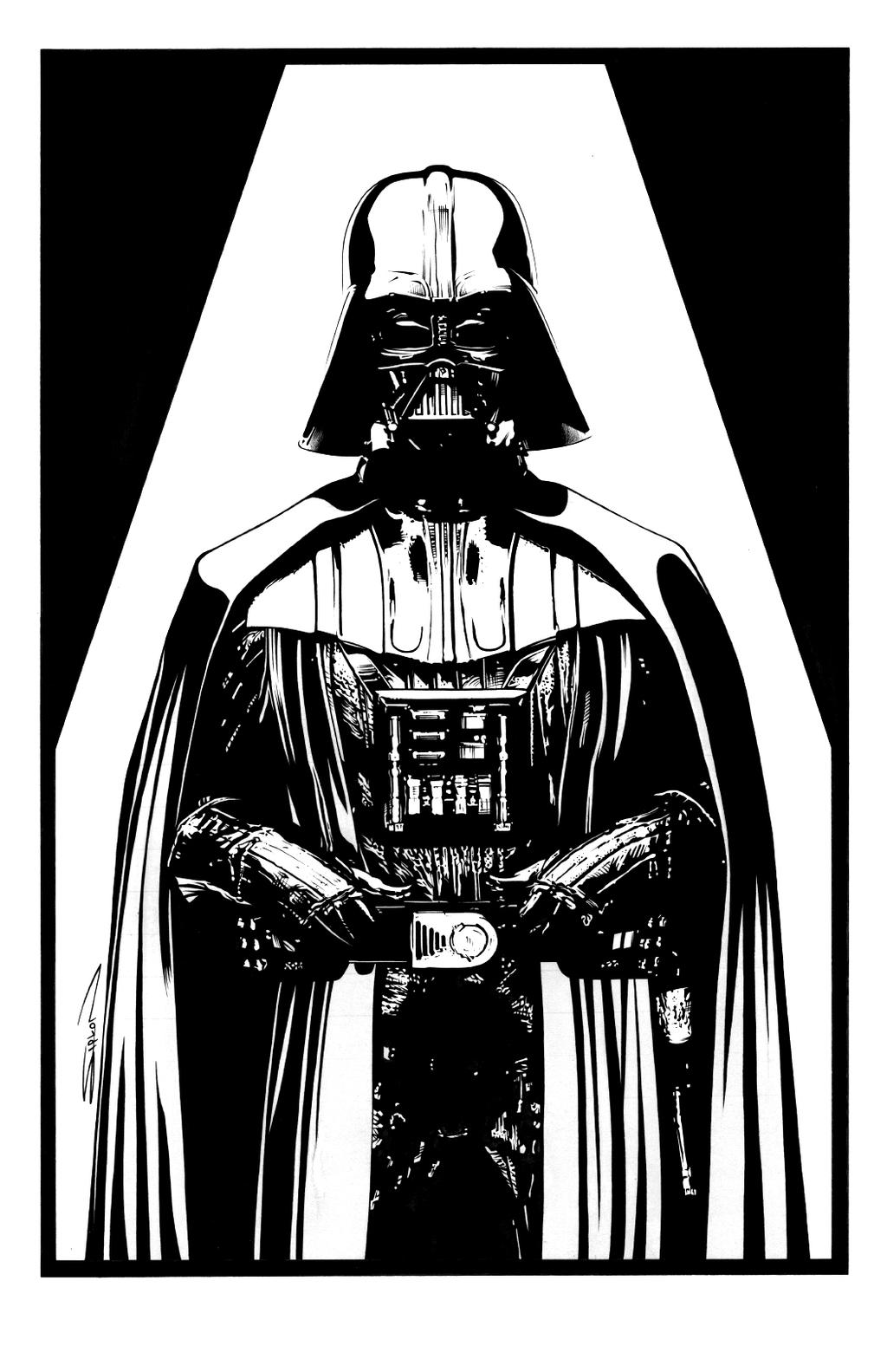 Vader Ink by RandySiplon