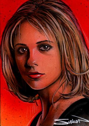 Buffy Sketch Card 4 by RandySiplon