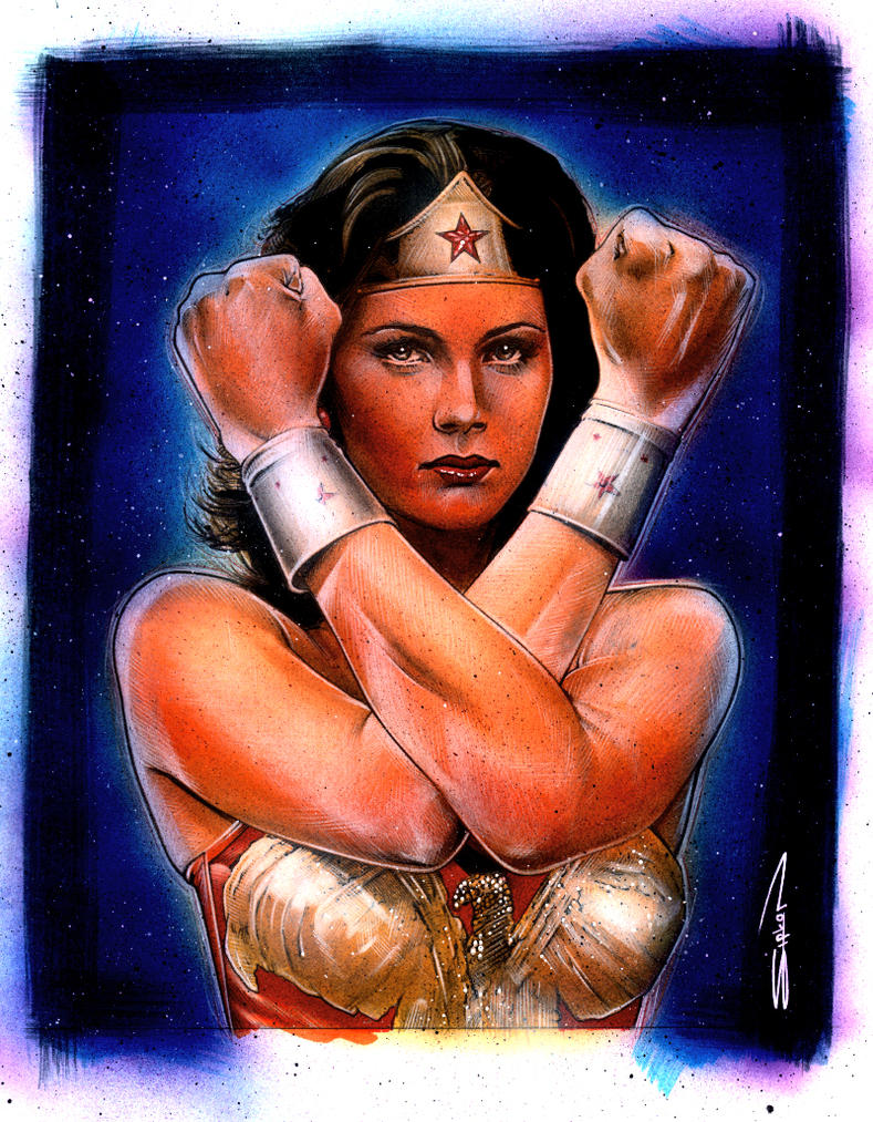 Wonder Woman by RandySiplon