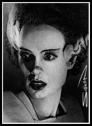 Bride of Frankenstein by RandySiplon