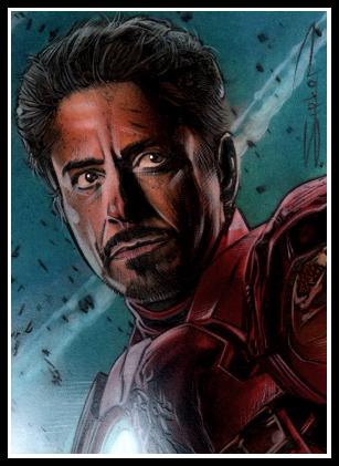 Avengers Iron Man by RandySiplon