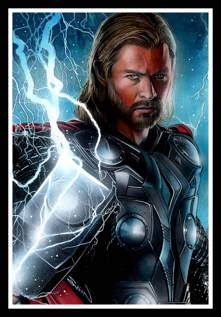The Mighty Thor by RandySiplon