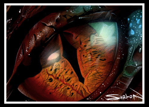 Eye of Smaug by RandySiplon