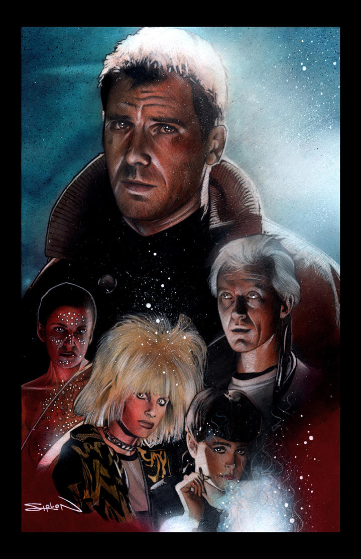 Blade Runner by RandySiplon