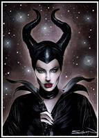 Maleficent by RandySiplon