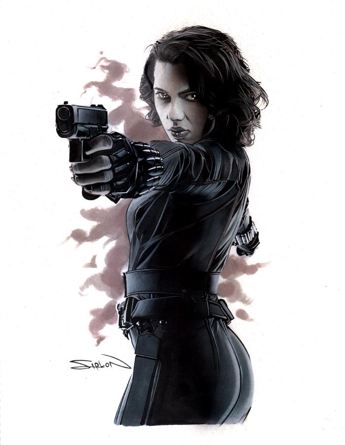 Avengers Black Widow 2 by RandySiplon