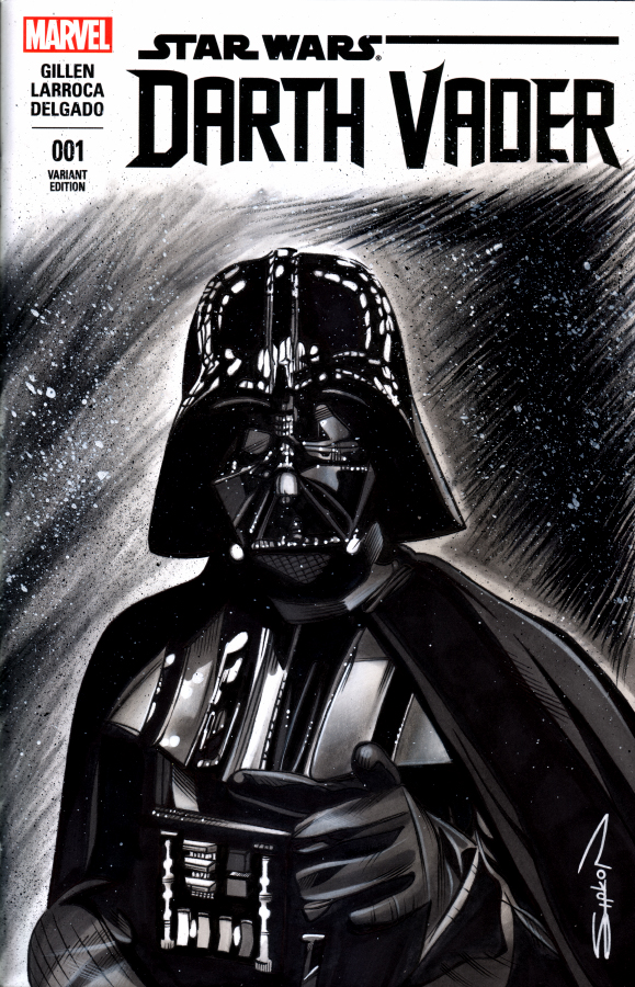 Darth Vader Sketch Cover by RandySiplon on DeviantArt