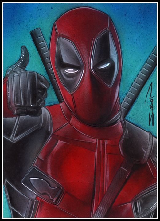 Deadpool by RandySiplon