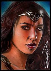 Gal Gadot Wonder Woman by RandySiplon