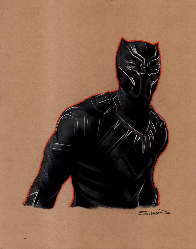 Black Panther by RandySiplon