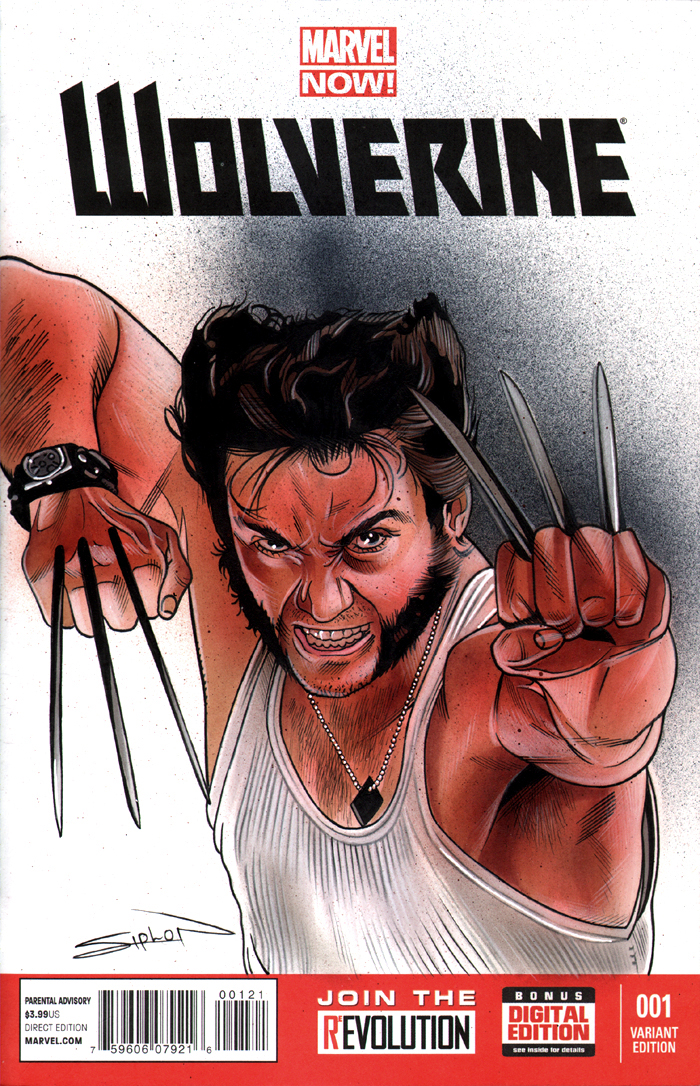 Wolverine Sketch Cover by RandySiplon