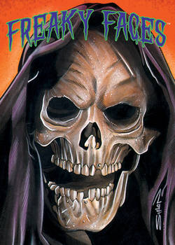 Freaky Faces Reaper Card