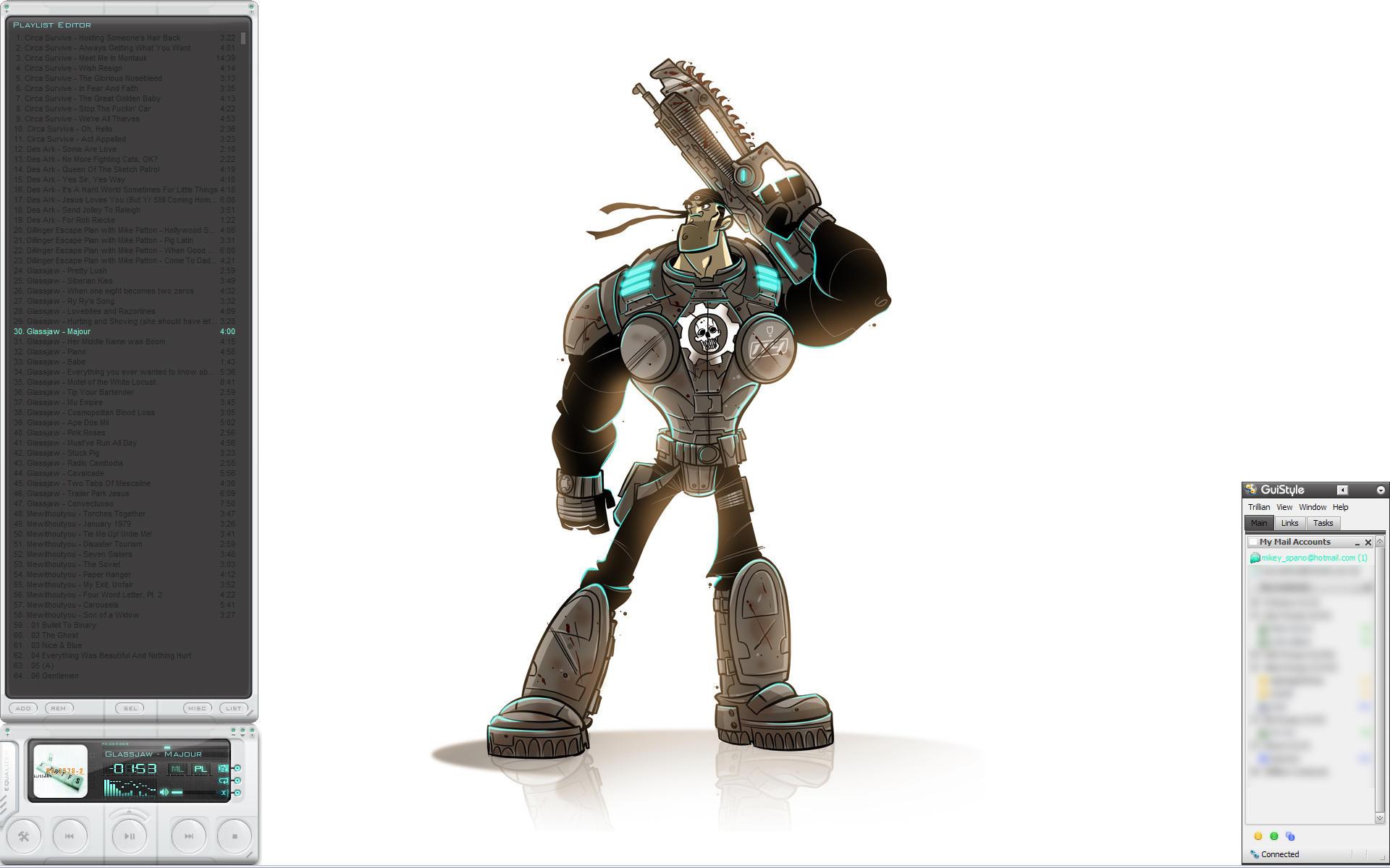 Gears of War by intolerant3d