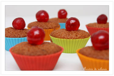 Cherry's cupcakes by Airha
